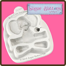Katy Sue Designs SUGAR BUTTONS BABY ELEPHANT Cake Crafting Mould