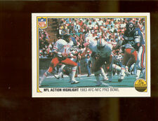 1983 Fleer Action DAN FOUTS San Diego Chargers Pro Bowl Card