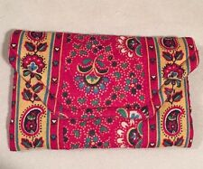 Vera Bradley Retired Rare Provincial Red Credit Card Case