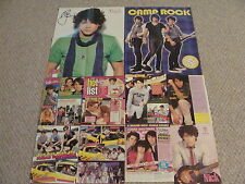 Nick Jonas Brothers Nice Set Of Posters & Clippings  #2 & 3 Free Buttons Pins