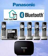 PANASONIC KX-TGF375S LINK2CELL BLUETOOTH - 5 CORDLESS PHONES + REPEATER