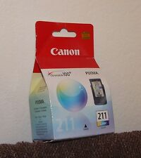 Genuine CANON PIXMA CL 211 COLOR INK Fine Cartridge Full photolithography NEW