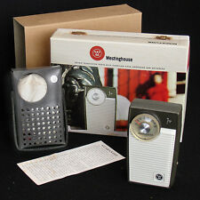 New York WORLD'S FAIR time capsule transistor radio Westinghouse 1964 NY in box!