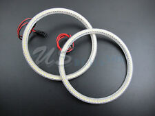 6K Xenon White Universal Fit LED Angel Eye Halo Rings 140mm 96-SMD LED VERSION 2
