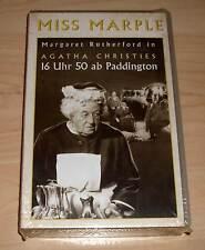 VHS - Miss Marple - 16 Uhr 50 ab Paddington - Agatha Christie - Videokassette