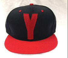 NEW YMCMB YOUNG MONEY casual SNAPBACK baseball hat Black/Red *ONE SIZE