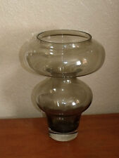 LARGE ROSENTHAL HOME DESIGNS ART GLASS VASE