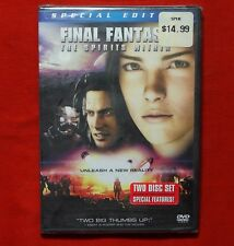 BRAND NEW Final Fantasy The Spirits Within WS DVD 2-Disc Set
