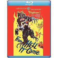 From Hell It Came 1957 (Blu-ray) Tod Andrews, Tina Carver, Linda Watkins - New!