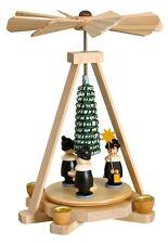 Minipyramide Kurrende 15cm Weihnachtspyramide Tischpyramide Erzgebirge NEU