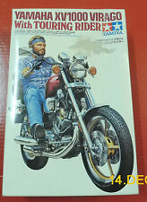 TAMIYA YAMAHA XV 1000 TOURER WITH RIDER 1/12 SCALE VINTAGE KIT