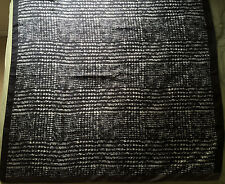NWT Authentic Sport Max Mara Black/Grey 100% Silk Large Square 90 x 90 cm Scarf