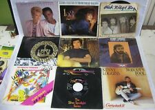 Lot of 13 45 Records Cassidy Heart Springfield Loggins Plant Picture Sleeve