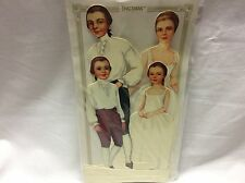 Colonial Family Paper Dolls / B. Schackman / 1990's / New / Unopened