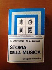 Storia Della Musica - Reprint Manuali Hoepli 1978