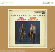 """Paul Desmond & Gerry Mulligan Two Of A Mind"" Limited Numbered Japan K2HD CD New"