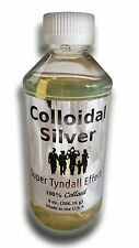 "Colloidal Silver ""Super Tyndall Effect"" 9 Oz, Dietary Mineral Supplement, Immune"