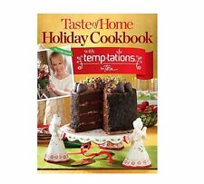 Temptations Taste of Home Holiday Cookbook by Tara Cook Book