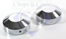 Abdeckung Gabelholm-Muttern Suzuki VS 600/750/800/1400 Intruder - Alu poliert