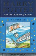 ROWLING HARRY POTTER AND THE CHAMBER OF SECRETS BLOOMSBURY STAR FIRST ED PB 2002