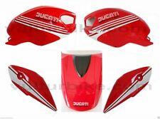 Aufklebersatz Darmah Look weiss schwarz für Ducati Monster 696 796 1100
