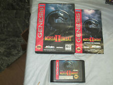 Mortal Kombat II (Sega Genesis, 1994) complete