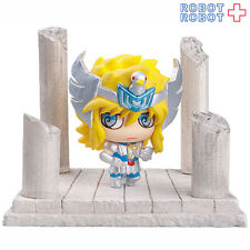 Cygnus Hyoga Saint Seiya Petit Chara Land mini figure with Stand