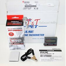 OPPAMA PULSE ENGINE TACHOMETER PET-2000DXR JAPAN Zenoah