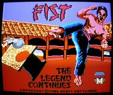 Commodore 64/128: FIST the LEGEND CONTINUES - C64 ORIGINAL Disk - tested