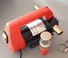 mobile Profi Allzweckpumpe mit 12 Volt Anschluss für Heizöl Diesel u. Wasser