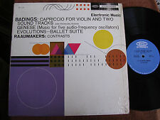 Henk Badings-Dick Raaijmakers/Electronic Music & Violin/Shrink/Epic BC 1118/M-