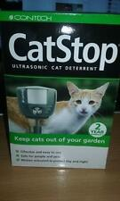 Cat Stop Cat Deterrent Ultra Sonic  Pest Repeller Scarer outdoor use