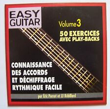 C9- EASY GUITAR - 50 EXERCICES AVEC PLAY-BACKS volume 3