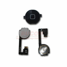 iPhone 4 Home Button Homebutton Taste Knopf mit Flexkabel Matte schwarz