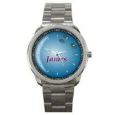 BOWLING BALL CUSTOMISED WRISTWATCH ****ANY NAME****GREAT GIFT ITEM***