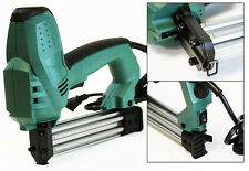 2 in 1 U & T Nail Crown Electric Stapler Brad Nail Staple Gun Pressure Adjust