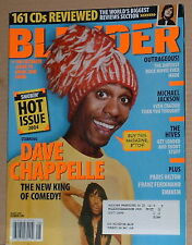 Dave Chappelle,Michael Jackson,The Hives,The Hot Issue Aug 2004 Blender Magazine