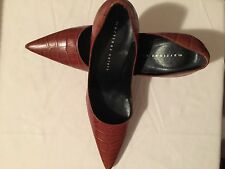 Pre Owned Martinez Valero Women's Heel Size 10  Gentle Worn 4 Inches Heel