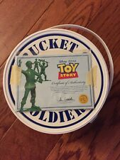 BUCKET O SOLDIERS Signature Collection Toy Story Disney Pixar Green Army Men