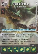 Green Dragon Lesser Dragon #35 - Dungeons & Dragons Battle for - Dice Masters