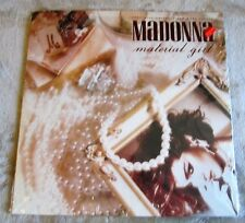 "MADONNA Material Girl 12"" Maxi Single Vinyl 45 RPM (1984 Sire 20304) In Shrink!"