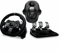 LOGITECH Driving Force G920 Xbox One+PC Racing Wheel,Pedals,Gears -Force Shifter