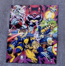 X-Men 1993 Tom Smith Wolverine Cable Magneto Storm Cyclops Mini Poster VF