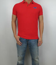 NWT HOLLISTER By Abercrombi​e 2014 Men Muscle Slim Fit  Wipeout Beach Polo Shirt