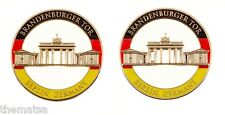 "BRANDEN BURGER TOR BERLIN GERMANY ARMY MILITARY 1.75"" CUTOUT CHALLENGE COIN"