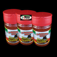 3-Pico De Gallo Hot spicy Snack Seasoning Clasico La Mexicana 4oz each