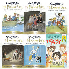 Famous Five Collection 6 Books Set By Enid Blyton Good Old Timmy & Other Stories
