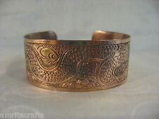 Tibetan Buddhism Dragon Creative Power Copper Cuff Bracelet Nepal