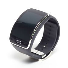 Samsung Galaxy Gear S SM-R750 Black Plastic Case Charcoal Black Modern Buckle