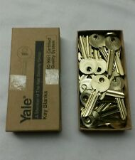 NEW BOX OF 50 YALE RN11 6-PIN KEY Blanks, E1R (PARA) Key Section, SOLID BRASS
